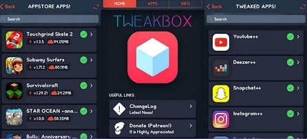 Install Tweakbox android and iOS