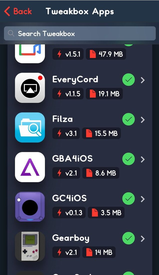 filza file manager tweakbox