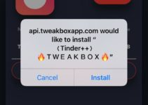 Tinder++ on iOS - TweakBox