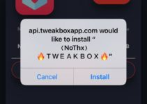 Install NOThx App on iOS
