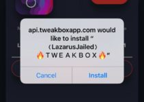 Install LazarusJailed App on iOS TweakBox