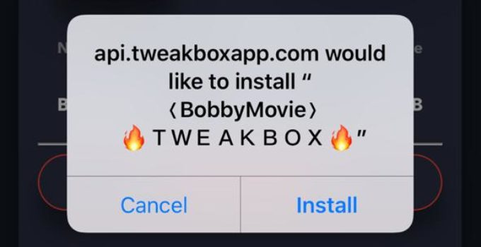 BobbyMovie on iOS - TweakBox