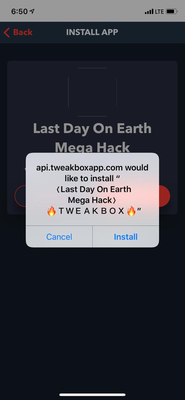 Install last day on earth mega hack ios